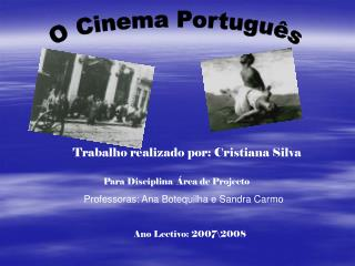 O Cinema Português