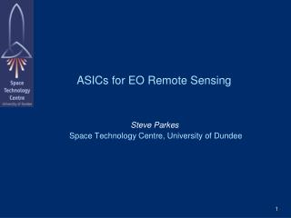 ASICs for EO Remote Sensing