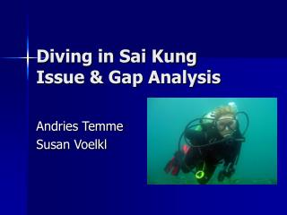 Diving in Sai Kung Issue  Gap Analysis