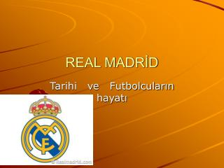 REAL MADRİD