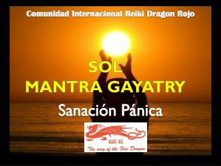 SOL MANTRA GAYATRY