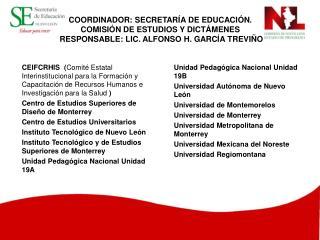 Unidad Pedagógica Nacional Unidad 19B Universidad Autónoma de Nuevo León