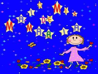 Neste mês de alegria,  tão lindo mês de flores.  Queremos de Maria, Cantar seus louvores.