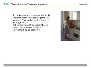 Toepassing van de Powerkabel in keukens
