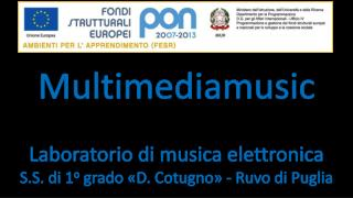 Multimediamusic Laboratorio di musica elettronica
