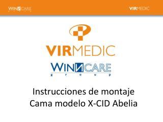 Instrucciones de montaje Cama modelo X-CID Abelia