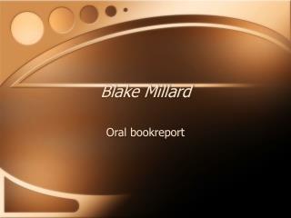 Blake Millard