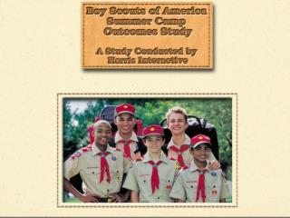 2001 Boy Scouts of America, Harris Interactive