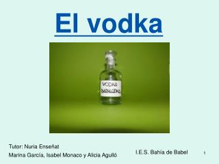 El vodka