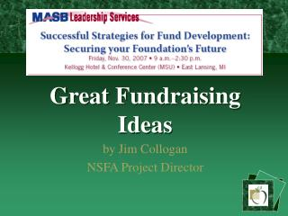 Great Fundraising Ideas