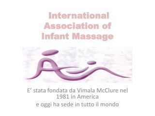 International Association of Infant  Massage