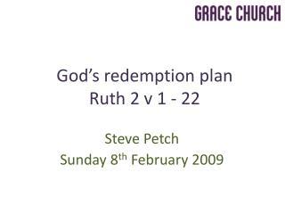 Steve Petch Sunday 8 th  February 2009