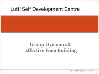 Lutfi Self Development Centre