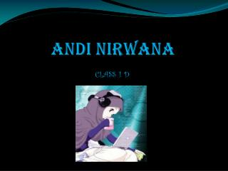 ANDI NIRWANA