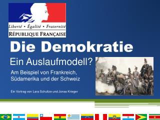 Die Demokratie Ein Auslaufmodell?