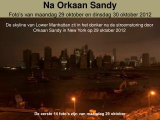 Na Orkaan Sandy