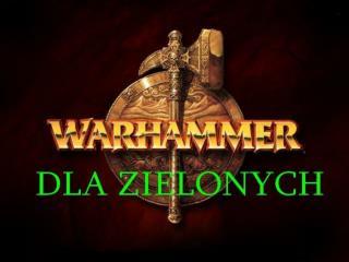 Rasy i narodowości dostępne w Warhammerze