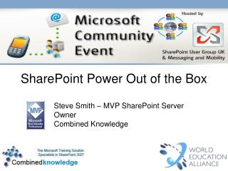 SharePoint Power Out of the Box