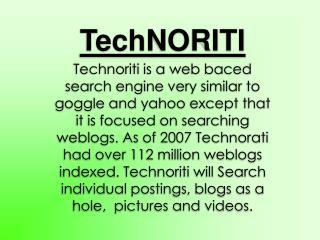 TechNORITI