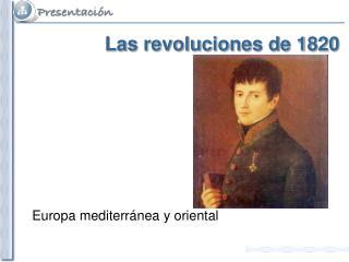 Las revoluciones de 1820