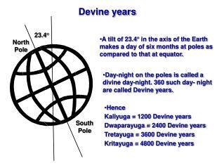 Devine years