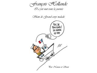 François Hollande Il a fait nuit toute la journée Slam de Grand corps malade