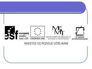 EU ICT2/1/1/14   Člověk a svět práce – 4.,5. ročník
