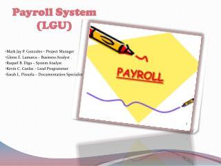 Payroll System (LGU)