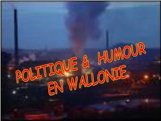 POLITIQUE &  HUMOUR  EN WALLONIE