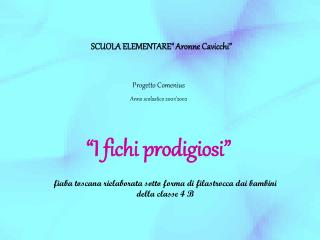 """SCUOLA ELEMENTARE"""" Aronne Cavicchi"""""""