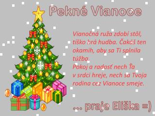 Pekné Vianoce
