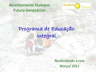 Programa de Educação Integral