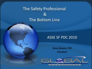 The Safety Professional   The Bottom Line