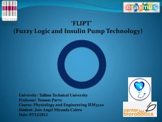 'FLIPT'   (Fuzzy Logic and Insulin Pump Technology)