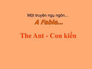 The Ant - Con kiến