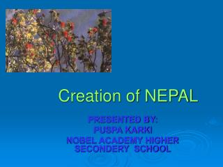 Creation of NEPAL