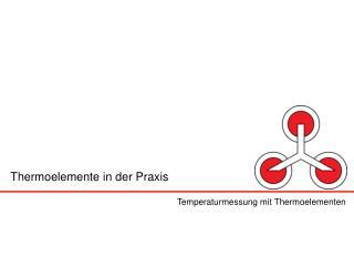 Thermoelemente in der Praxis