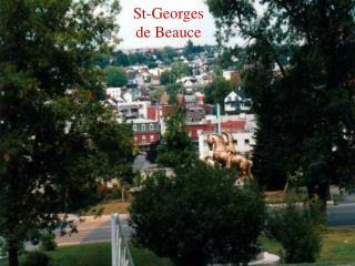 St-Georges de Beauce