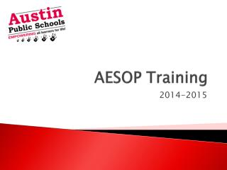 AESOP Training