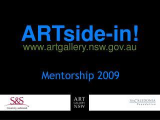 ARTside-in! artgallery.nsw.au