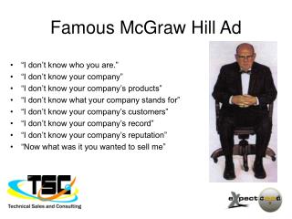 Famous McGraw Hill Ad