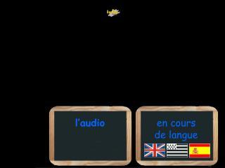 en cours               de langue