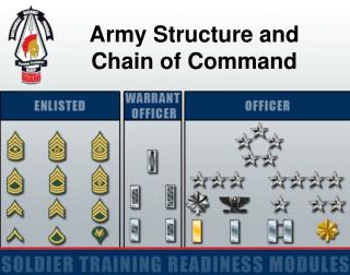 Army Structure and  Chain of Command