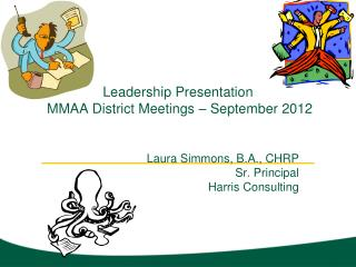 Leadership Presentation  MMAA District Meetings – September 2012