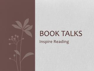 Book Talks