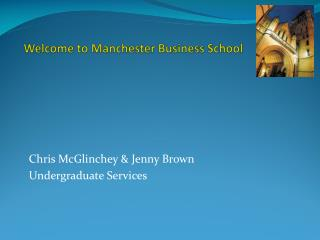 Welcome to Manchester Business School
