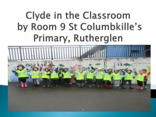 Clyde in the Classroom  by Room 9 St Columbkille's Primary,  Rutherglen