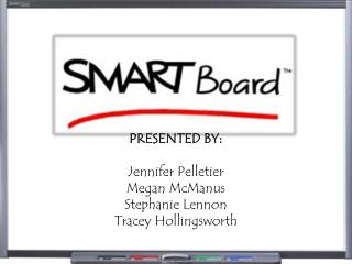 PRESENTED BY: Jennifer Pelletier Megan McManus Stephanie Lennon Tracey Hollingsworth
