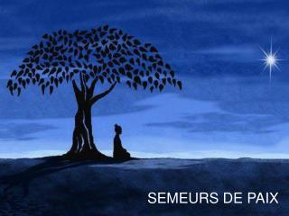 SEMEURS DE PAIX