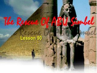 Lesson 90 Aswan  Dam